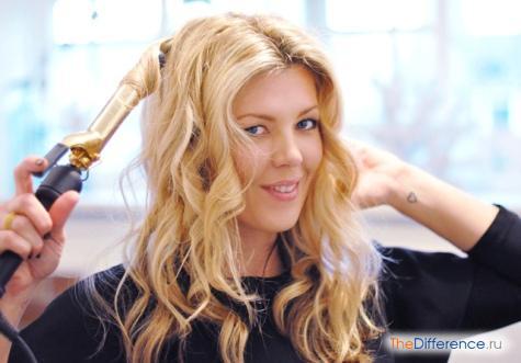 как красиво накрутить длинные волосы