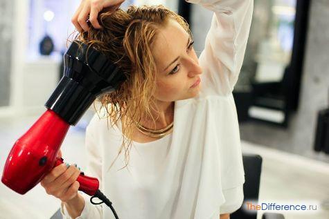 красивые накрученные длинные волосы