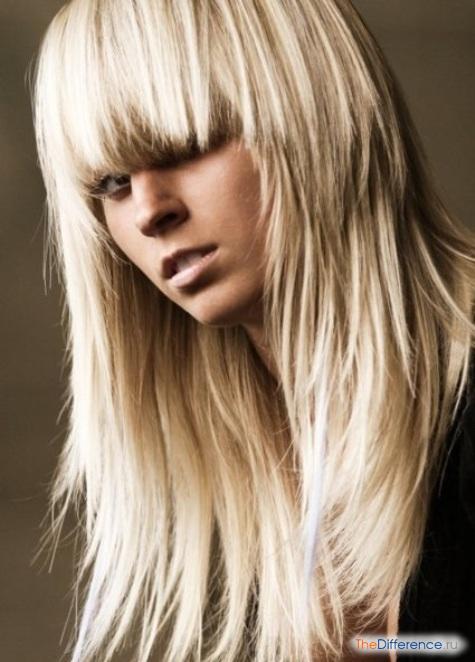 как красиво подстричь длинные волосы фото