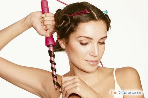 как накрутить волосы щипцами