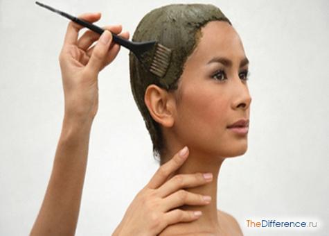 как наносить хну на волосы
