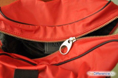 как починить молнию на сумке