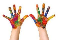 Как пользоваться пальчиковыми красками?
