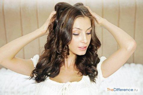 как сделать крупные локоны на длинные волосы