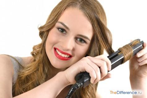 как сделать волнистые волосы утюжком