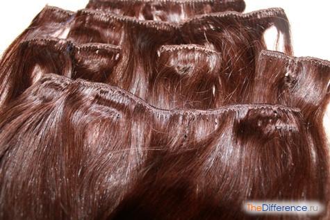 как снимают нарощенные волосы