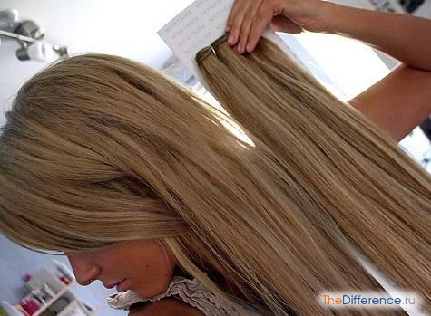 как снять нарощенные волосы на капсулах