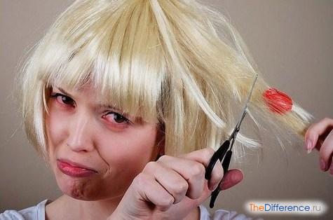 как убрать жвачку из волос
