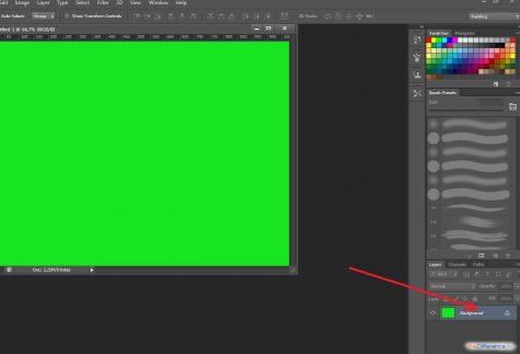 как увеличить слой в фотошопе