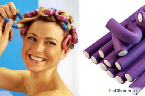 как завить волосы на ночь