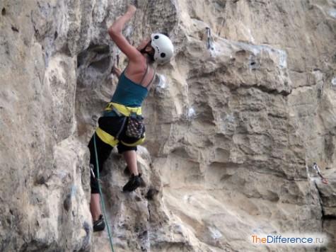отличие альпинизма от скалолазанья
