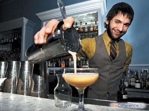 чем отличается бармен от бариста