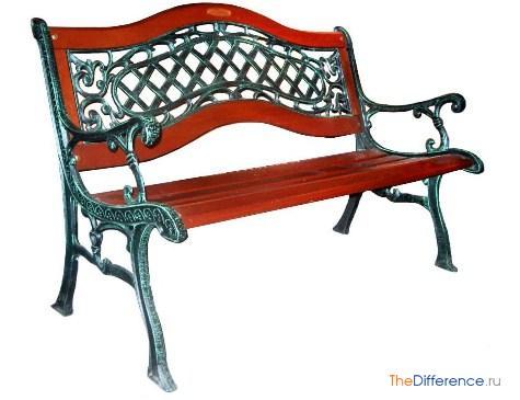разница между лавкой и скамейкой