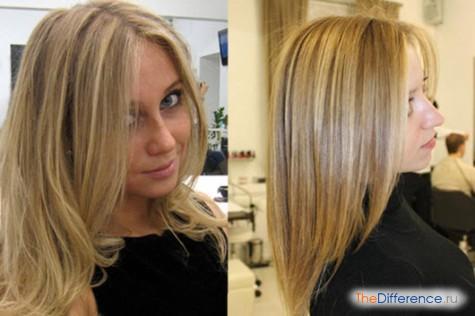 Мелирование и тонировка волос сделать