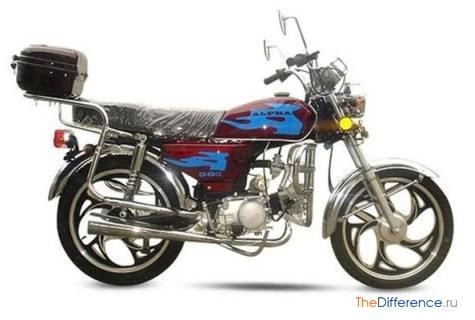 чем отличается мопед от мотоцикла,