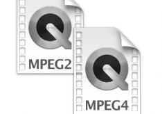 Разница между MPEG2 и MPEG4