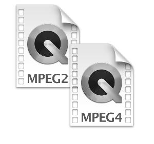 Чем отличается MPEG2 от MPEG4