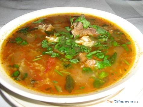 чем отличается суп от похлебки