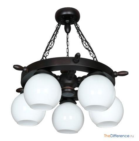 разница между светильником и люстрой