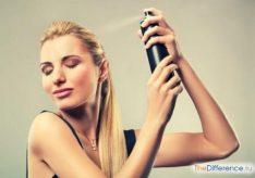 Как пользоваться лаком для волос?