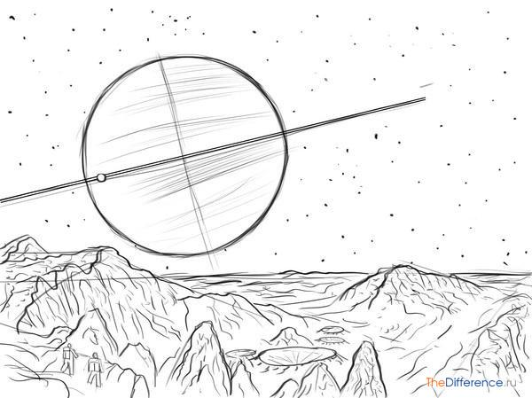 рисунки космоса и планет для детей 11 лет лёгкие кредит под залог птс в воронеже отзывы