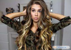 Как сделать крупные волны на волосах?