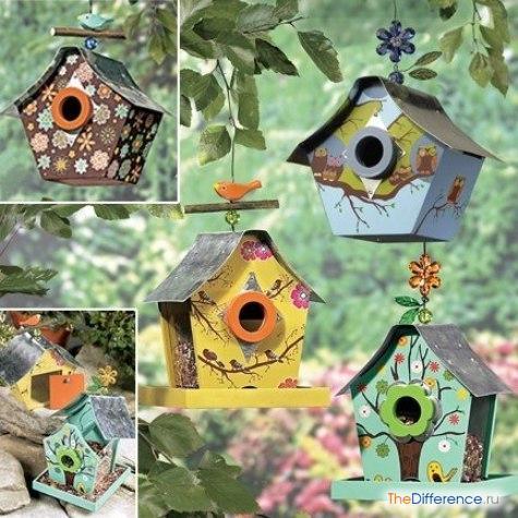 кормушки для птиц фото декор