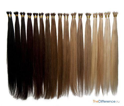 какие волосы лучше наращивать