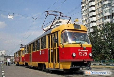 чем отличается трамвай от троллейбуса