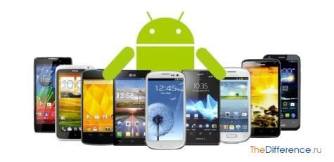 отличие айфона от андроида