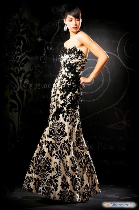 Отличается вечернее платье