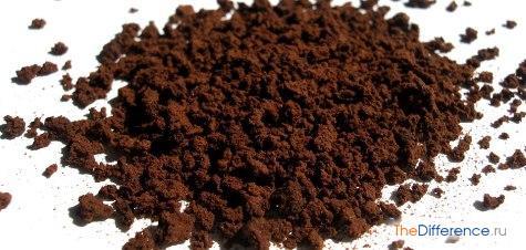 разница между сублимированным и гранулированным кофе