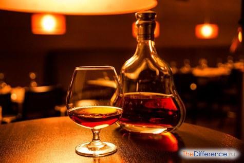 разница между виски и коньяком