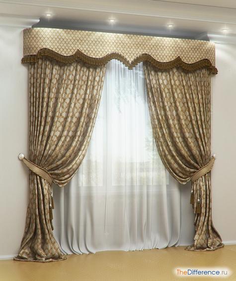 чем отличаются шторы от занавесок