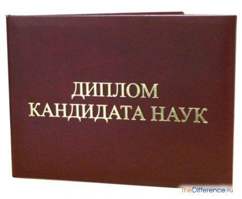 Диссертация докторская и кандидатская 8167