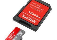 Разница между MicroSD, MicroSDHC и MicroSDXC