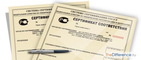 чем отличается обязательный сертификат от добровольного