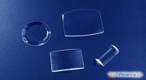 отличие сапфирового стекла от минерального
