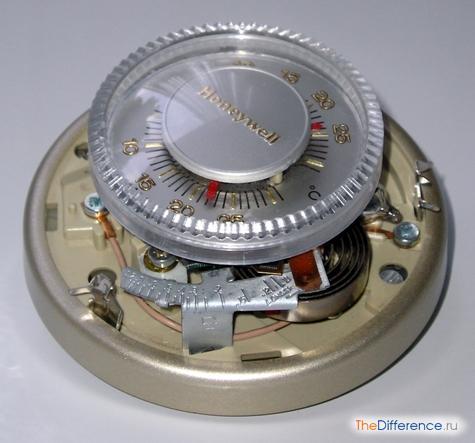 отличие терморегулятора от термостата