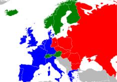Разница между Западной и Восточной Европой
