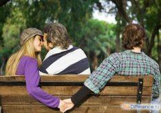Разница между женской и мужской изменами