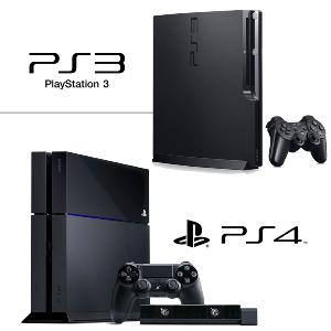 Чем отличается PS3 от PS4