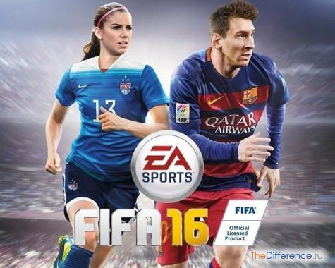 чем отличается FIFA от PES