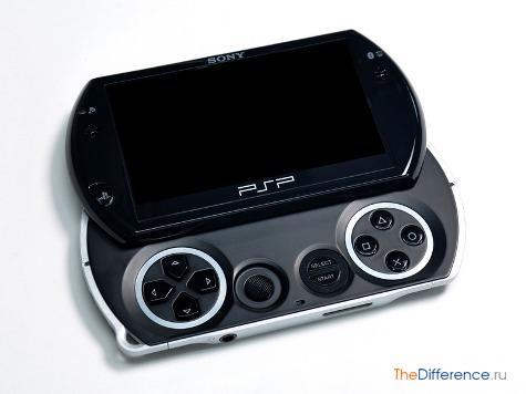 отличие PSP-3000 от PSP go