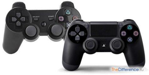 в чем разница между PS3 и PS4