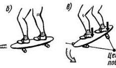Учимся кататься на скейтборде