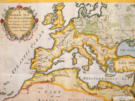 отличие империи Карла Великого от Римской империи