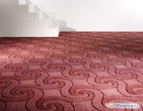 чем отличается ковровое покрытие от ковра