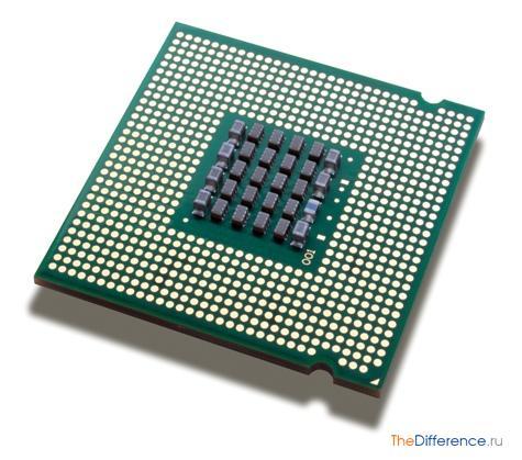 чем отличается микроконтроллер от микропроцессора