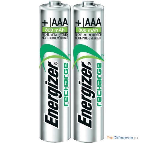 чем отличаются батарейки AA от AAA